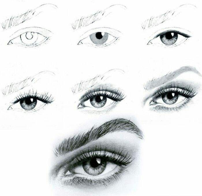 Learn sketching faces