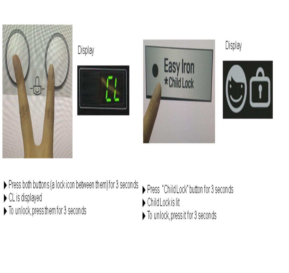 LG Çamaşır Makinesi Anahtar Kilit Açma