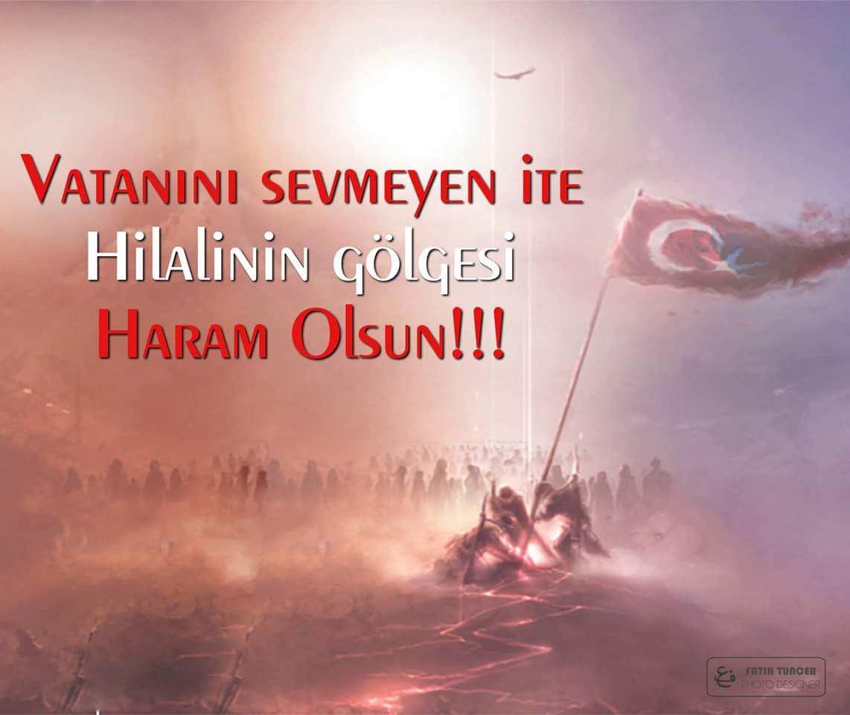 Türk Bayrağı Ve Şehitlerimizin İçin Sözler