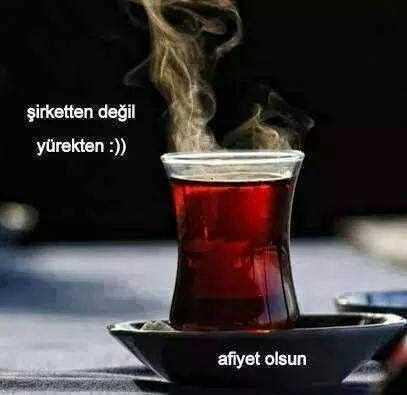 Çay ile ilgili Ünlülerin Sözleri