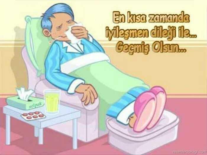 Hasta yatanlara Gecmis olsun mesaji - Güzel Sözler ve Bilgi ...
