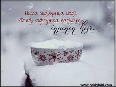 Kar ,Kış ,Soğuk İle ilgili Sözler