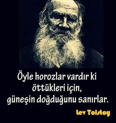 Lev tolstoy resimli sözleri