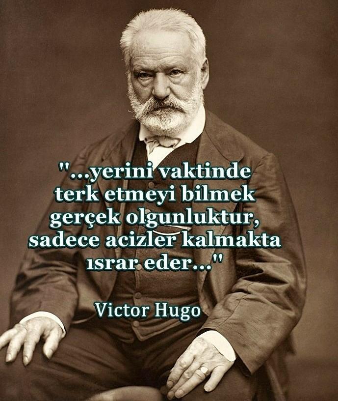 Victor hugo resimli sözleri