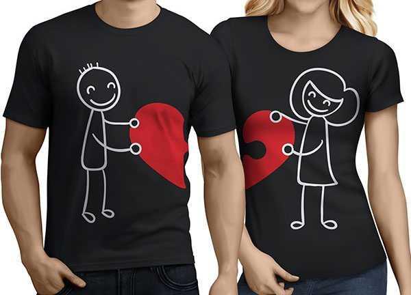 Sevgililer Günü Tişört Örnekleri (Resimli)