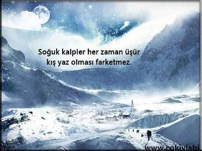 Kar Kış Soğuk Ile Ilgili Sözler Güzel Sözler