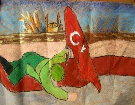 Çanakkale Savaşı Çizimleri  (öğrenciler için )