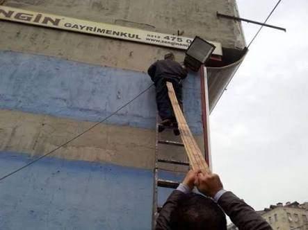 İş Güvenliği Komik Resimler