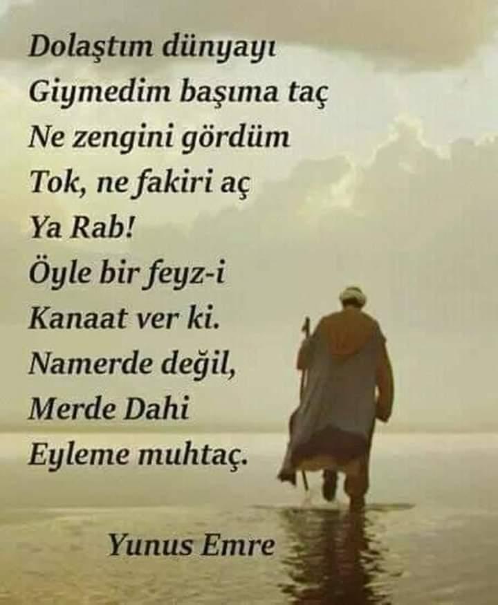 Yunus emre zen fakir şiir