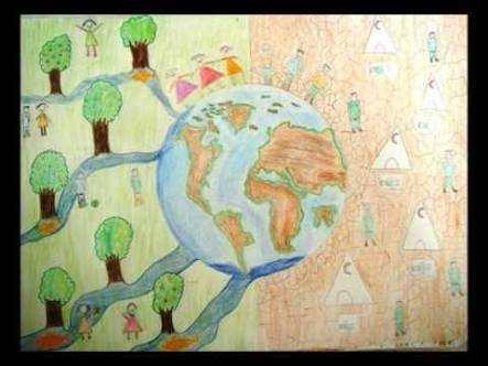 22 Mart Dünya Su Günü (Öğrenci Çizimleri )