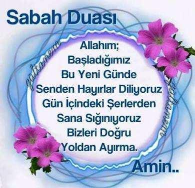 Sabah Duaları