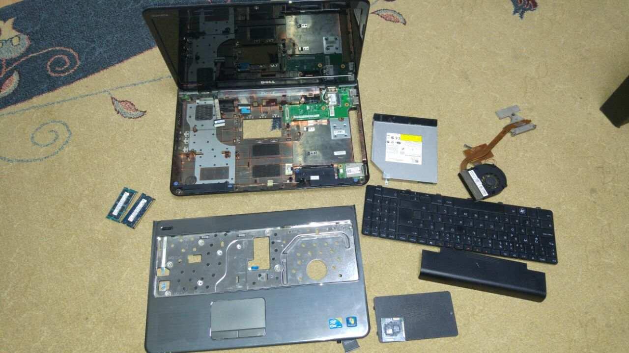 2 El Dell Notebook Parcaları