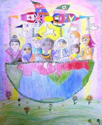23 nisan  çizimleri öğrenciler için