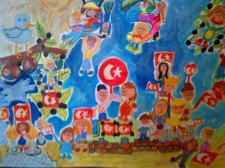 23 nisan çizimleri 6.sınıf