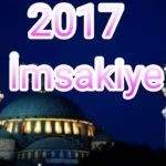Iğdır İftar Saati Ramazan imsakiyesi 2017