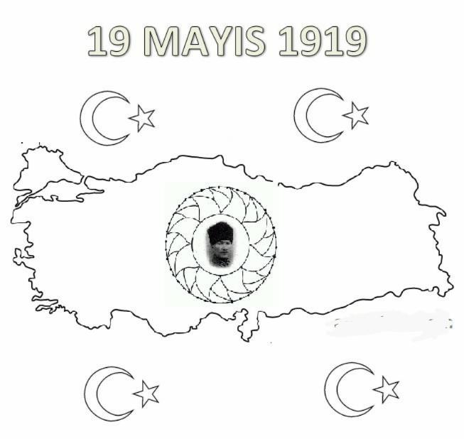 19 Mayıs Boyama Sayfaları çok Güzel Güzel Sözler