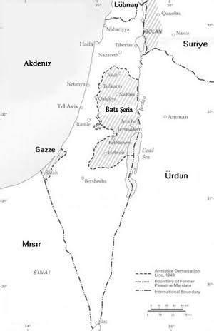 Batı Şeria Hakkında Bilgiler