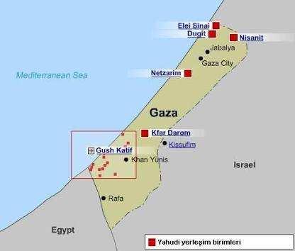 Gazze Şeridi Hakkinda Bilgiler