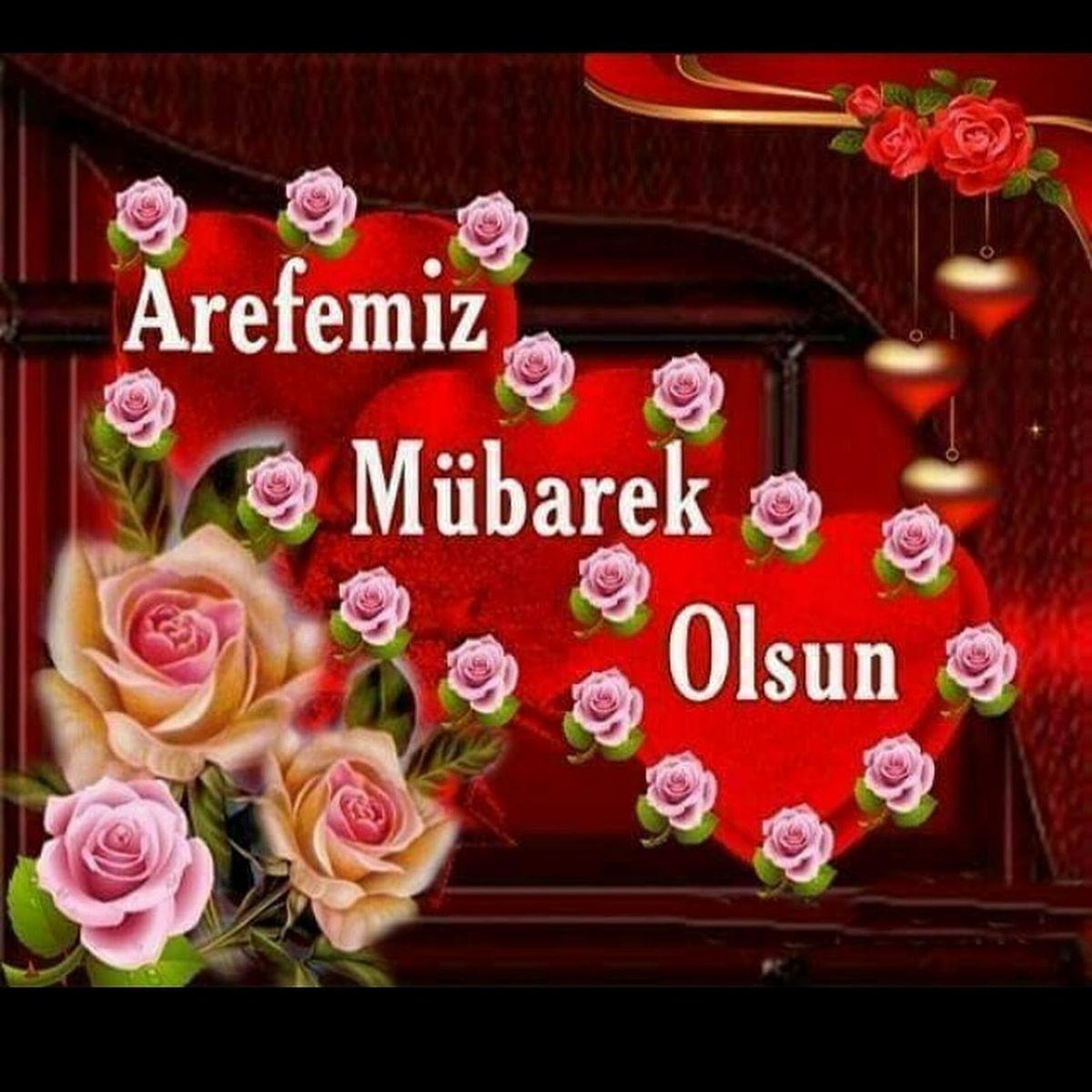Arefe günü mesajları Resimli