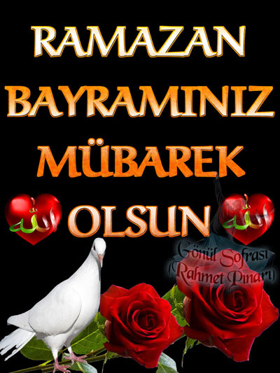 En güzel Ramazan Bayramı Mesajları