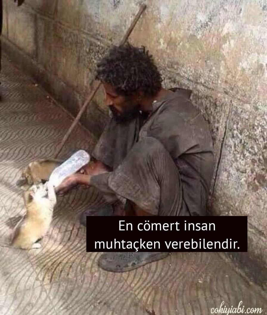 Cömertligi anlatan en güzel resimler