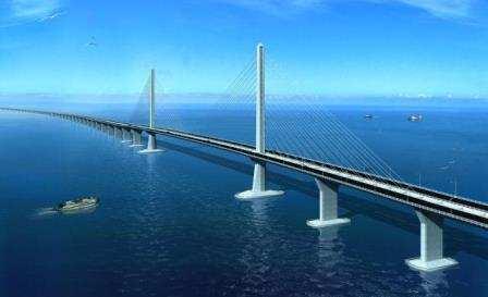 Hong Kong Zhuhai Macau köprüsü