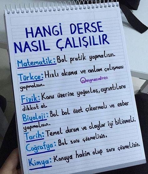 Türkçe dersinde başarılı olmak için nasıl ders çalışılmalı