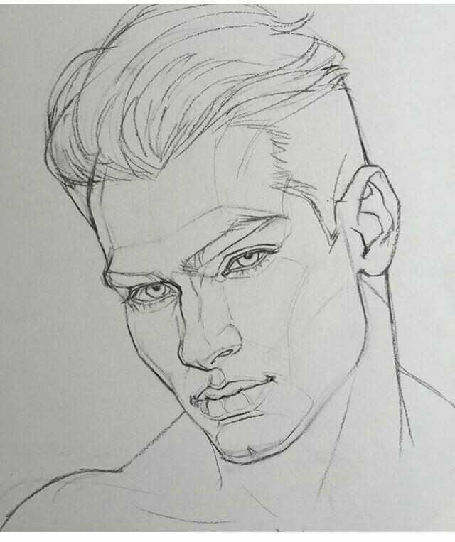 Karakalem Bayan Erkek Saç çizimleri Güzel Sözler