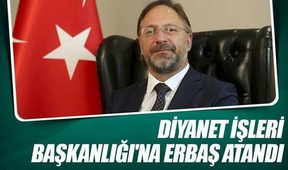 Ali Erbaş Kimdir -Yeni Diyanet İşleri Başkanı