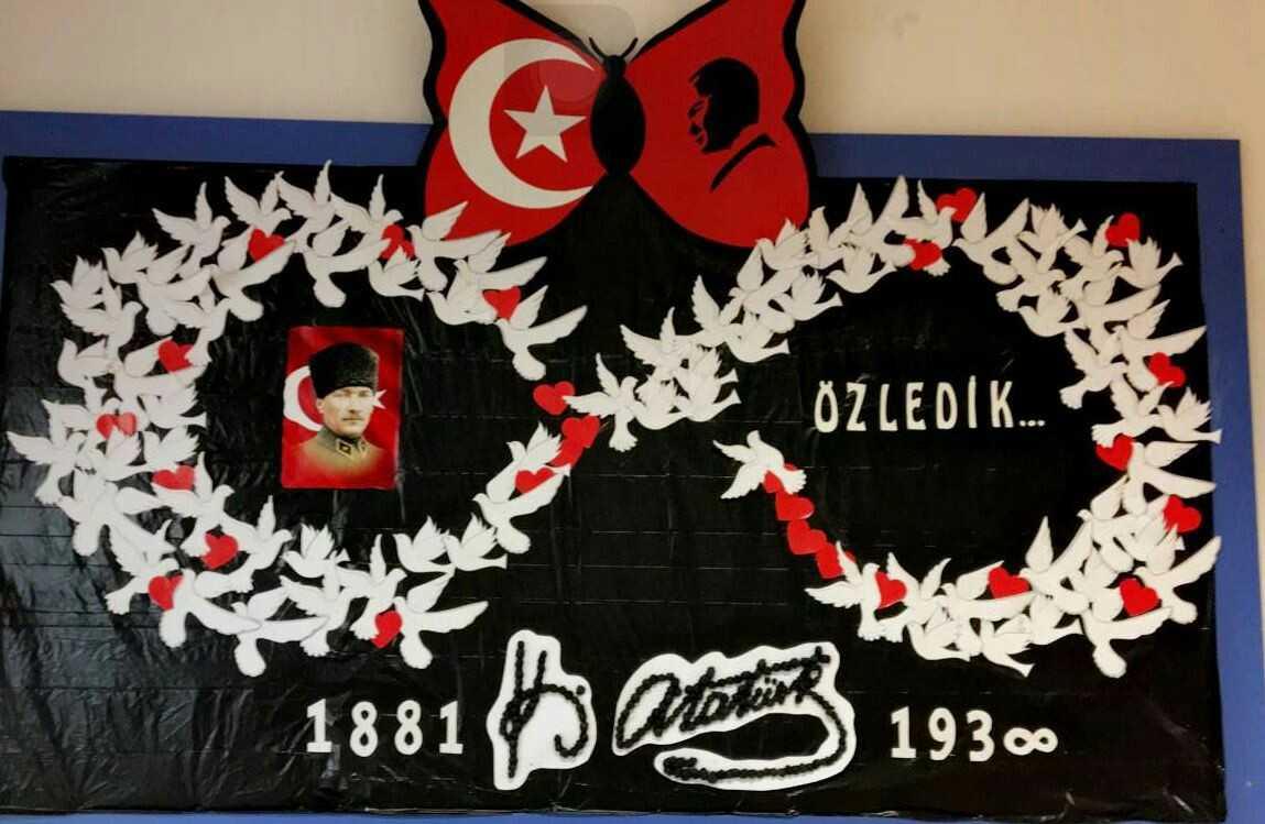 10 Kasim Ataturk Pano Projeleri Ogrenciler Icin Guzel Sozler