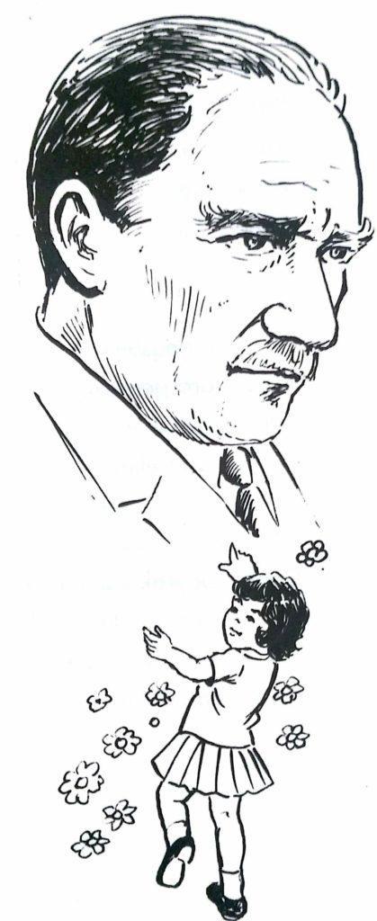 29 Ekim Ataturk Ve Cocuk Boyama Sayfasi Guzel Sozler Ve Bilgi