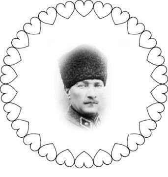 29 Ekim Kalpli Ve Ataturk Boyama Sayfasi Güzel Sözler