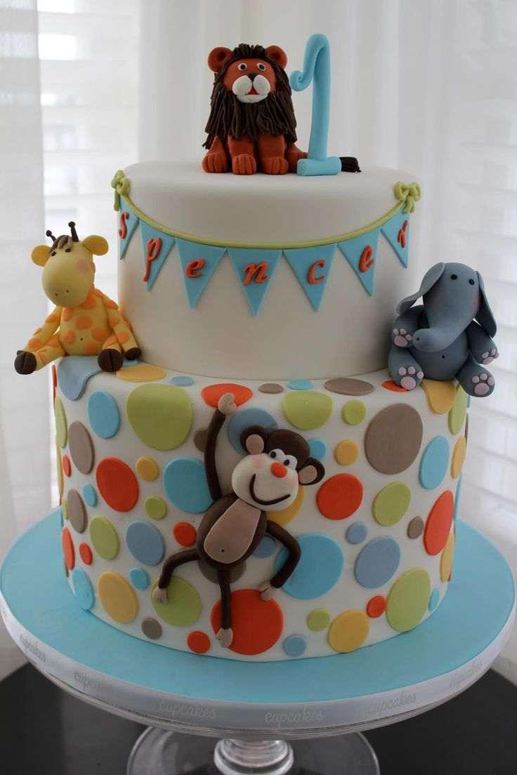 Çocuklara Özel Doğum Günü Pasta Resimleri