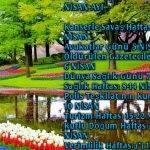 Nisan Ayı Önemli Günler Haftalar