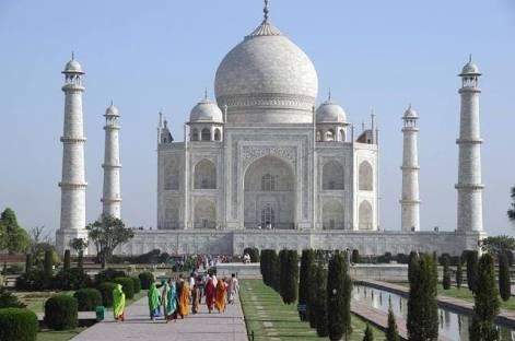 Tac Mahal Cami İngilizce Bilgi