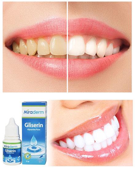 Gliserin diş beyazlatma nasıl yapılır