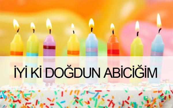 Abiye Anlamlı Doğum Günü Mesajı
