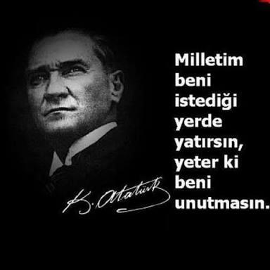 Resimli Atatürk Sözleri Güzel Sözler