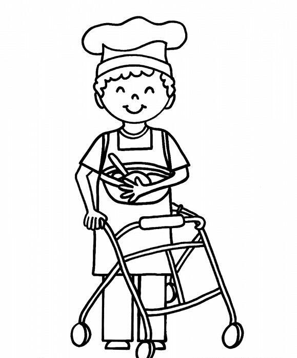 Engelliler Haftası Boyama Sayfalari 1 Güzel Sözler