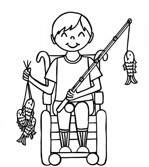Engelliler Haftası Boyama Sayfalari 7 Güzel Sözler