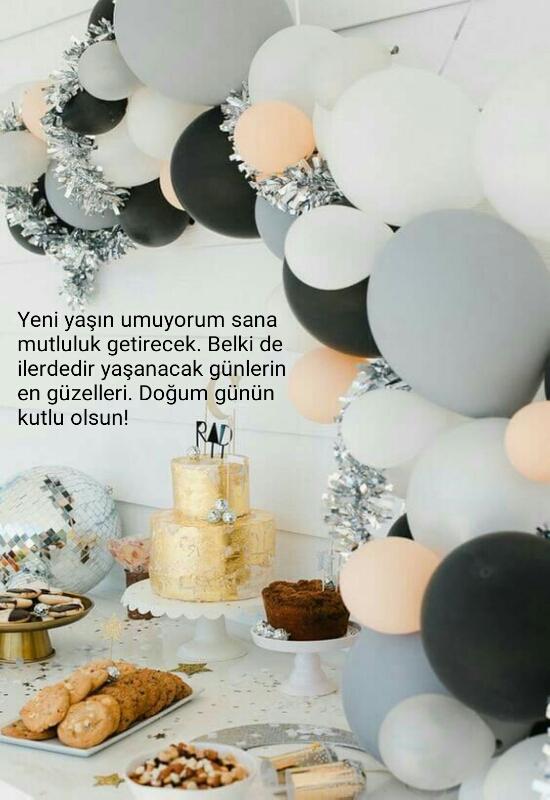 Doğum günü mesajı 2018