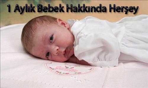 1 Aylık Bebek Hakkında Bilgiler