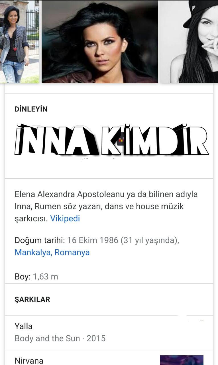 İnna Kimdir, Biyografisi