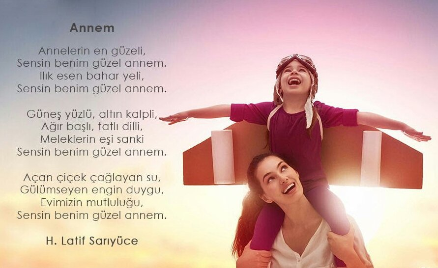 Anne Şiirleri – (Duygusal ,Özlem ,Sevgi ,1,2,3,.. Kıtalık Şiirler)
