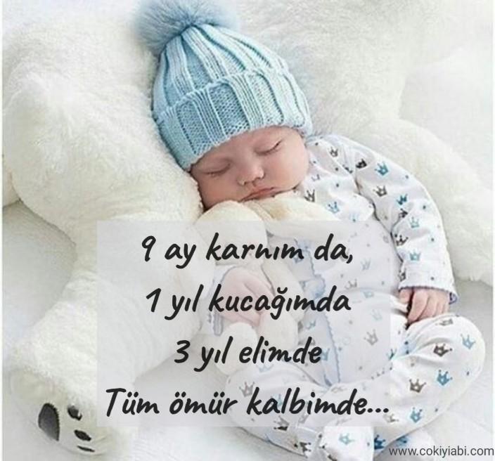 Anneden bebeğine sevgi sözleri
