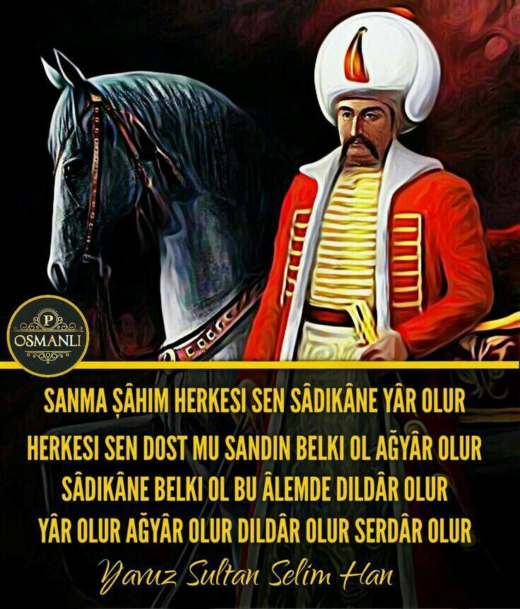 Yavuz Sultan Selim şiirleri