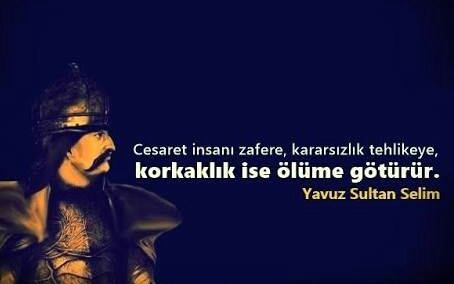 Sultan Selim resimli sözleri