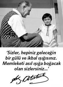 Atatürk'ün resimli sözleri
