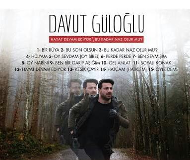 Davut Güloğlu 2018 Albüm - Bukadar Naz Olurmu