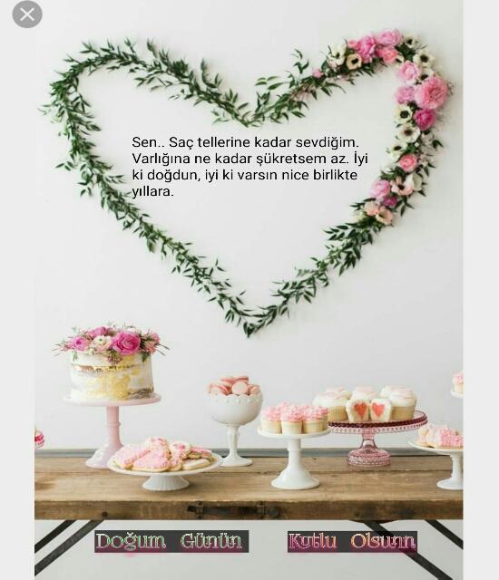 Sevgiliye en güzel doğum günü mesajı